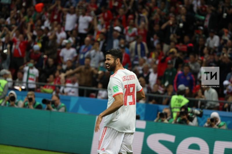 Сборная Испании с трудом обыграла Иран в матче чемпионата мира в Казани