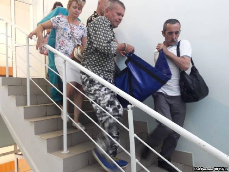 Суд по принудительному выселению в Зеленодольске закончился госпитализацией (ФОТО)