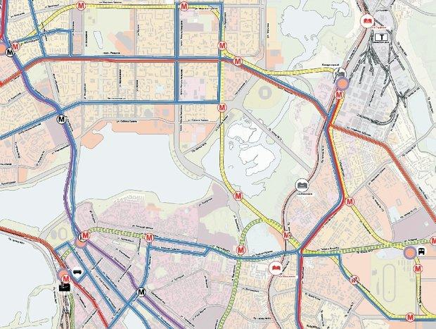 Генплан Казани с точки зрения транспорта: что-то пошло не так с метро и трамваем