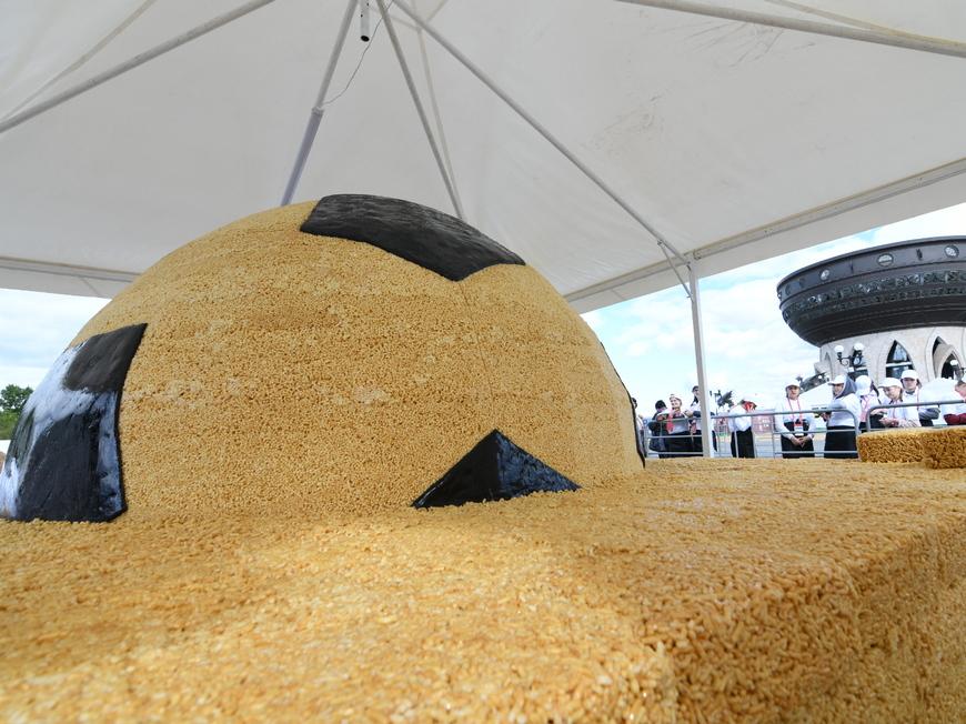 В Казани представили чак-чак весом более 4 тонн