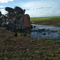 В Татарстане из-за ДТП разлилось около двадцати тонн нефти (ФОТО)