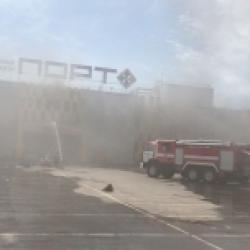 Дознаватели не исключают версию поджога здания ТЦ «Порт» в Казани