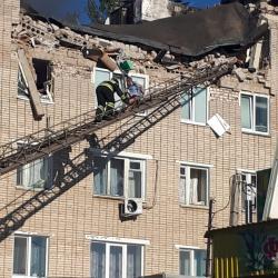В Заинске произошел взрыв в жилом доме (ФОТО, ВИДЕО)