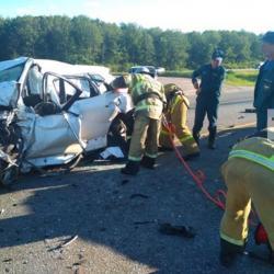 В Пестречинском районе в ДТП с грузовиком погибли два человека (ФОТО, ВИДЕО)