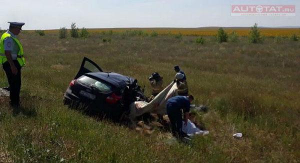 4 человека погибли в страшном ДТП на трассе Казань-Оренбург (ФОТО)