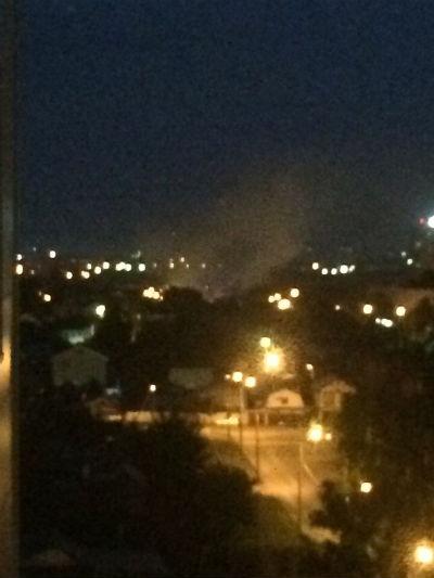 Ночью в Казани сгорел частный дом (ФОТО, ВИДЕО)