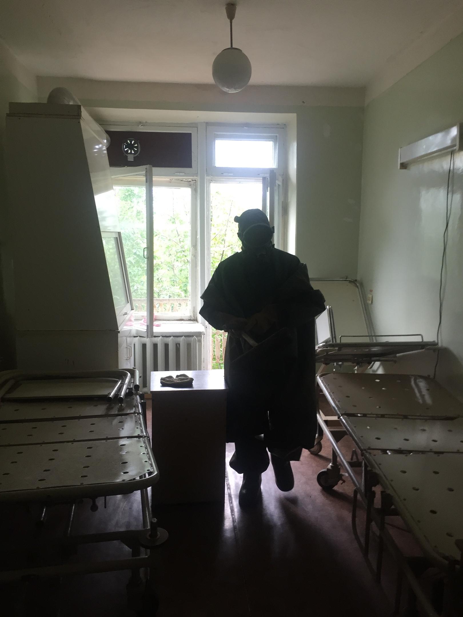 В Лениногорске врачи вызвали спасателей, чтобы спасти пациентов от роя диких ос (ФОТО)