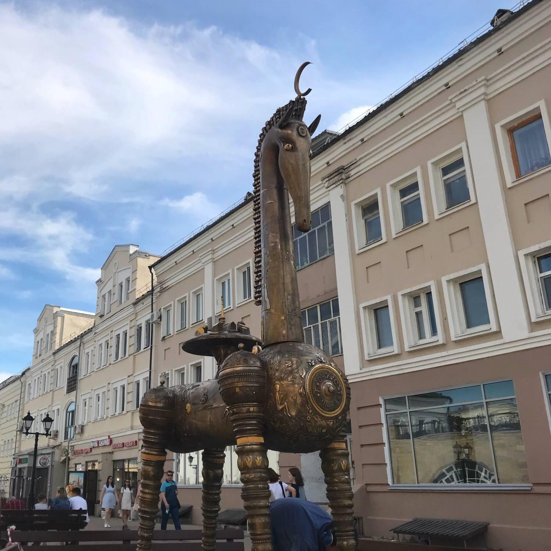 «Конь-Страна» поселился на Баумана (ФОТО)