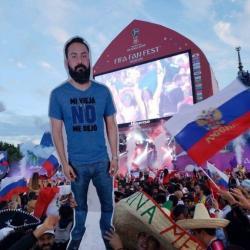 Мексиканский «картонный болельщик» собирается приехать в Казань