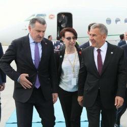 Рустам Минниханов принимает участие в церемонии инаугурации президента Турции Реджепа Тайипа Эрдогана