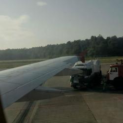 В Казани совершил экстренную посадку самолет из Уфы