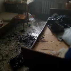 В Набережных Челнах пьяный курильщик спалил кровать и матрас (ФОТО)