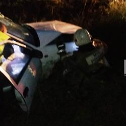 В Пестречинском районе Татарстана в вылетевшей в кювет «Дэу» погиб водитель (ФОТО)