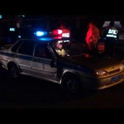 Охранник угнал автокран и устроил погоню с полицией