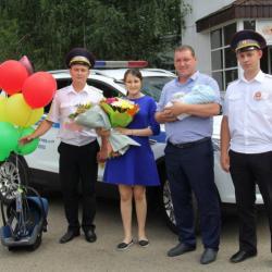 Татарстанские гаишники помогли роженице добраться до роддома