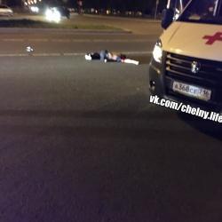Смертельное ДТП в Челнах: студент за рулем автомобиля сбил парня (ВИДЕО)