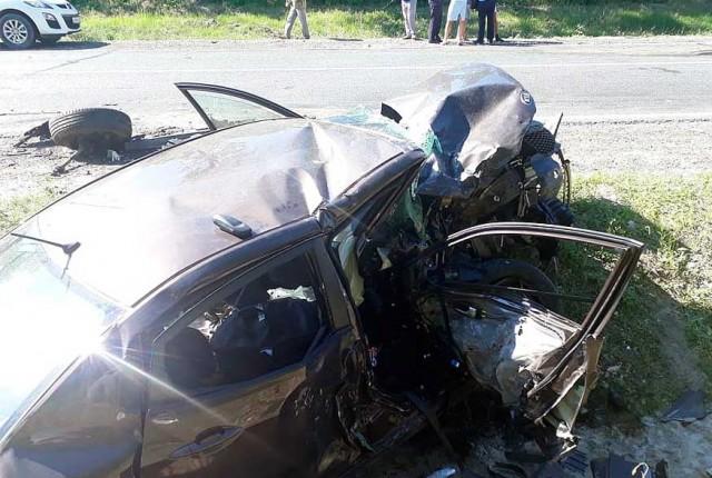 Водитель из Татарстана устроил массовое ДТП в Саратовской области с двумя погибшими (ФОТО)