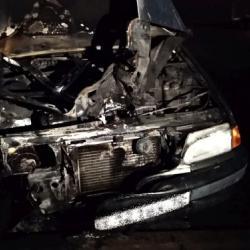 В Казани неизвестные подожгли четыре автомобиля (ФОТО)