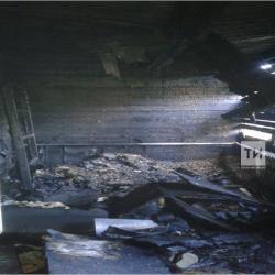 В Казани на пожаре в частном доме погиб мужчина (ФОТО)