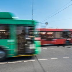 После тарана автобусом на ребенка в Казани упала остановка