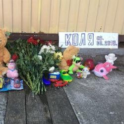 Нижнекамцы простились с мальчиком, погибшим во время отдыха в Сочи (ВИДЕО)
