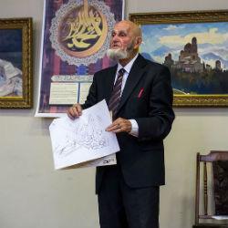 В Доме Дружбы откроется выставка первого русского исламского каллиграфа Владимира Попова и его учеников