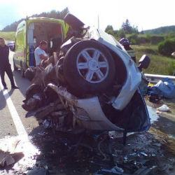 Четыре человека погибли в ДТП на трассе Сабы – Лесхоз в Татарстане (ФОТО)