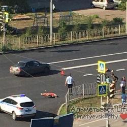 В Альметьевске пьяный водитель насмерть сбил двоих пешеходов (ФОТО, ВИДЕО)