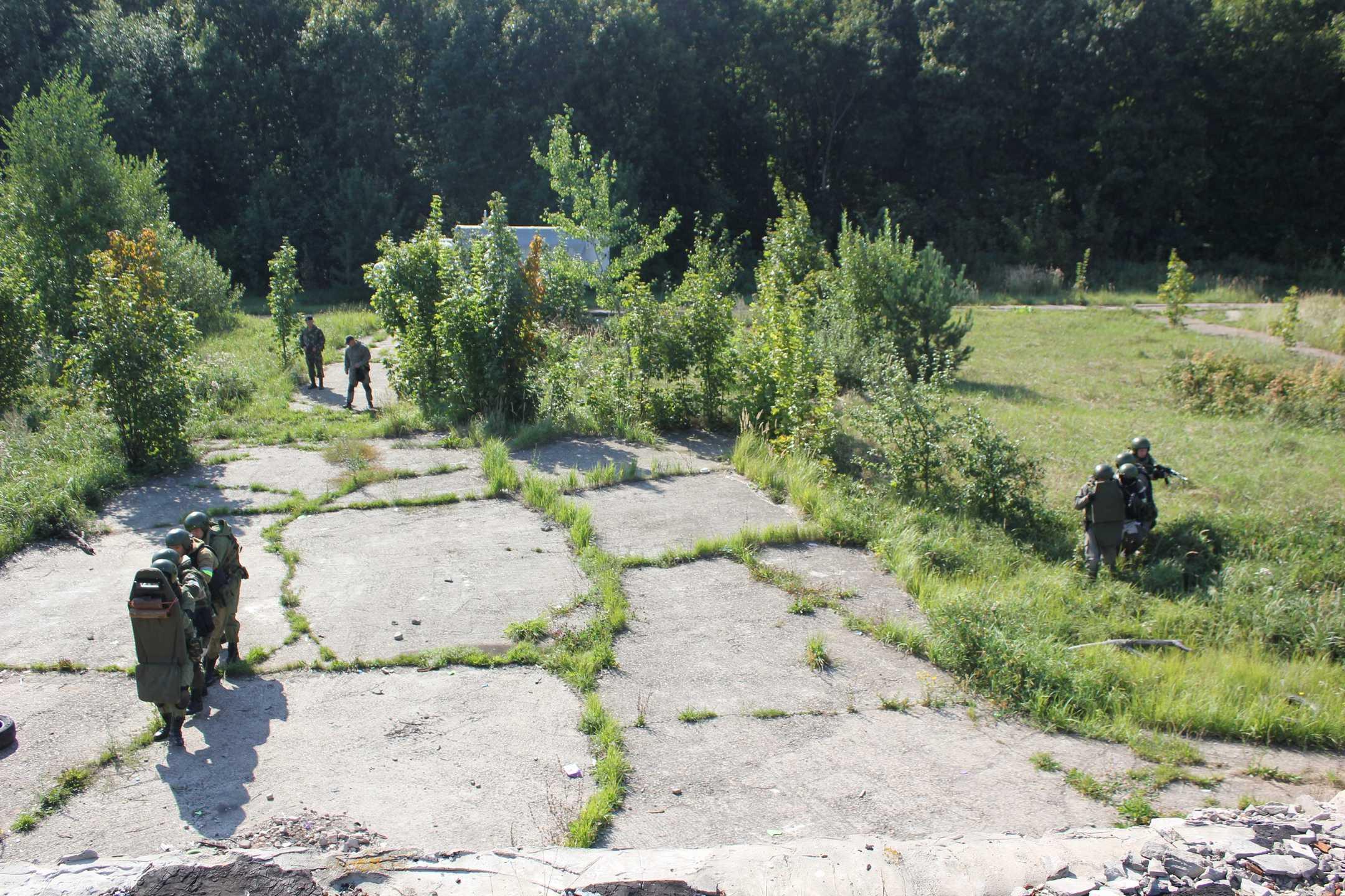 В Казани дроны помогли росгвардейцам обнаружить диверсантов (ФОТО)