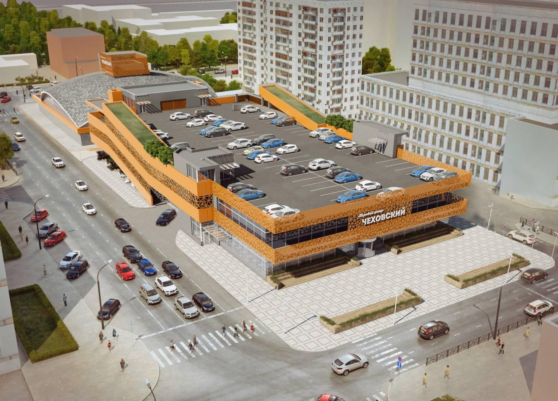 Чеховский рынок. Какой будет реконструкция «не совсем законного» объекта (ФОТО)