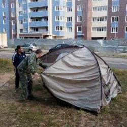 Активисты «Салават купере» сворачивают палаточный лагерь