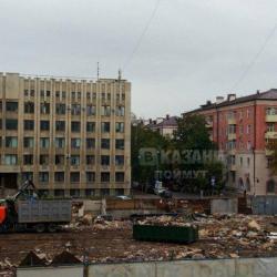 В Казани снесли Чеховский рынок: фото руин публикуют в соцсетях (ФОТО)