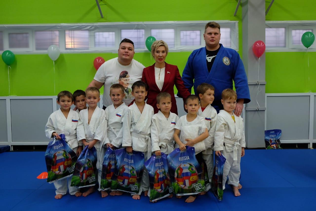 Депутат Госдумы Ольга Павлова поздравила казанских детей со Всемирным днем дзюдо (ФОТО)