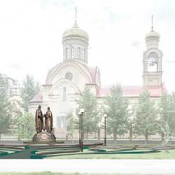К Дню народного единства в Казани откроется памятник Петру и Февронии