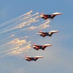«Стрижи» провели тренировочные полеты в Казани (ВИДЕО)