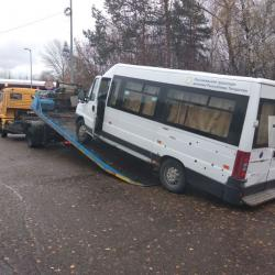 В Казани инспекторы ДПС отправили на штрафстоянку автобус, который вез призывников