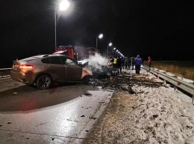 Под Казанью серьезное ДТП с участием BMW, есть пострадавшие (ФОТО)
