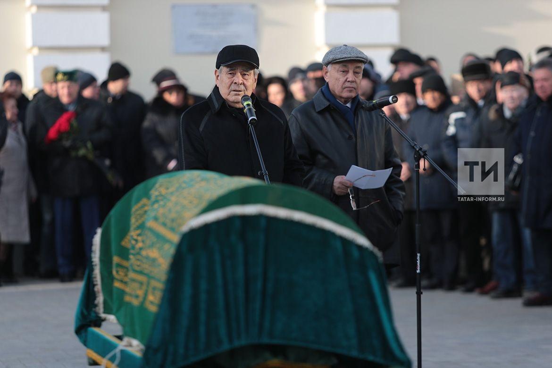 В Казани проходит церемония прощания с Сакиной Шаймиевой (ФОТОРЕПОРТАЖ)