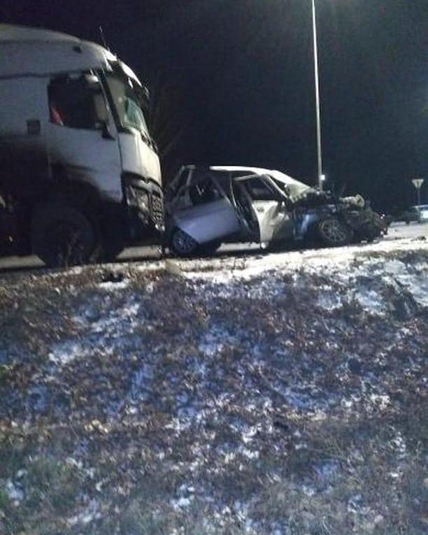 В Буинском районе РТ пожилой водитель легковушки погиб, не уступив дорогу «КАМАЗу» (ФОТО)