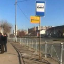 Казанская автобусная остановка оказалась в центре обсуждения в соцсетях