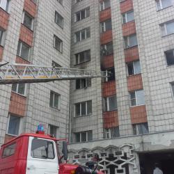 При пожаре в Казани спасены пять человек, в том числе, ребенок