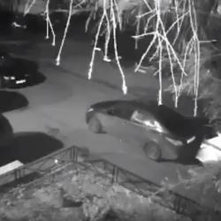 Ночью в Казани дебоширы изуродовали несколько припаркованных авто (ВИДЕО)
