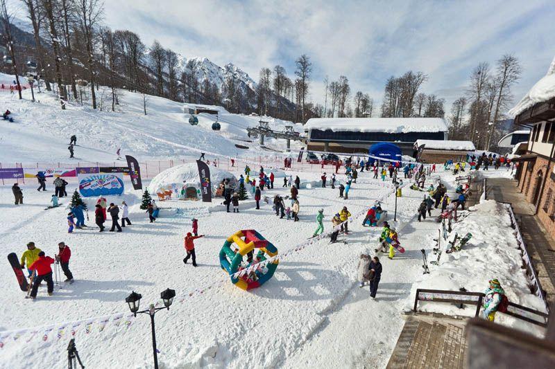 Зимние каникулы в Сочи