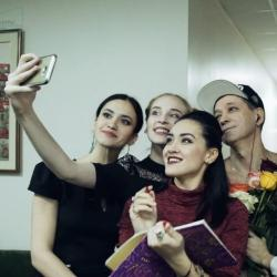В театре Камала премьера спектакля «Очарованный танцем» (ВИДЕО)