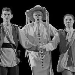 Новогодняя премьера в театре Кариева!