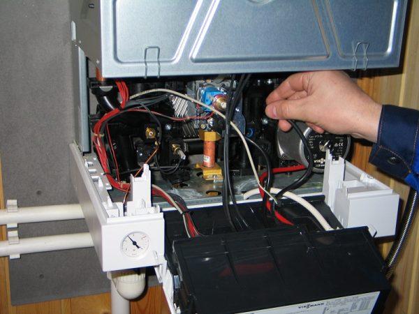 Самостоятельный ремонт газового котла