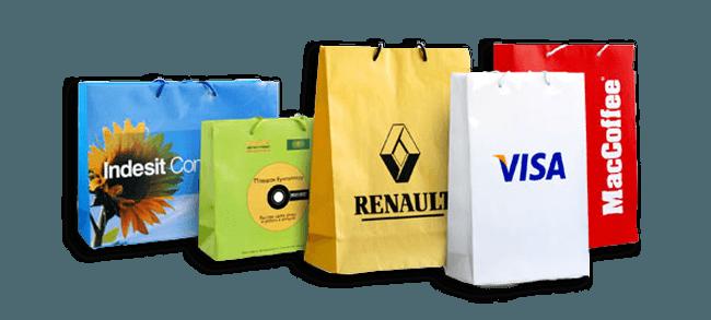 Высококачественная печать на бумажных пакетах
