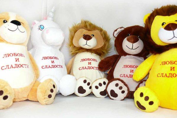 Оригинальные авторские мягкие игрушки